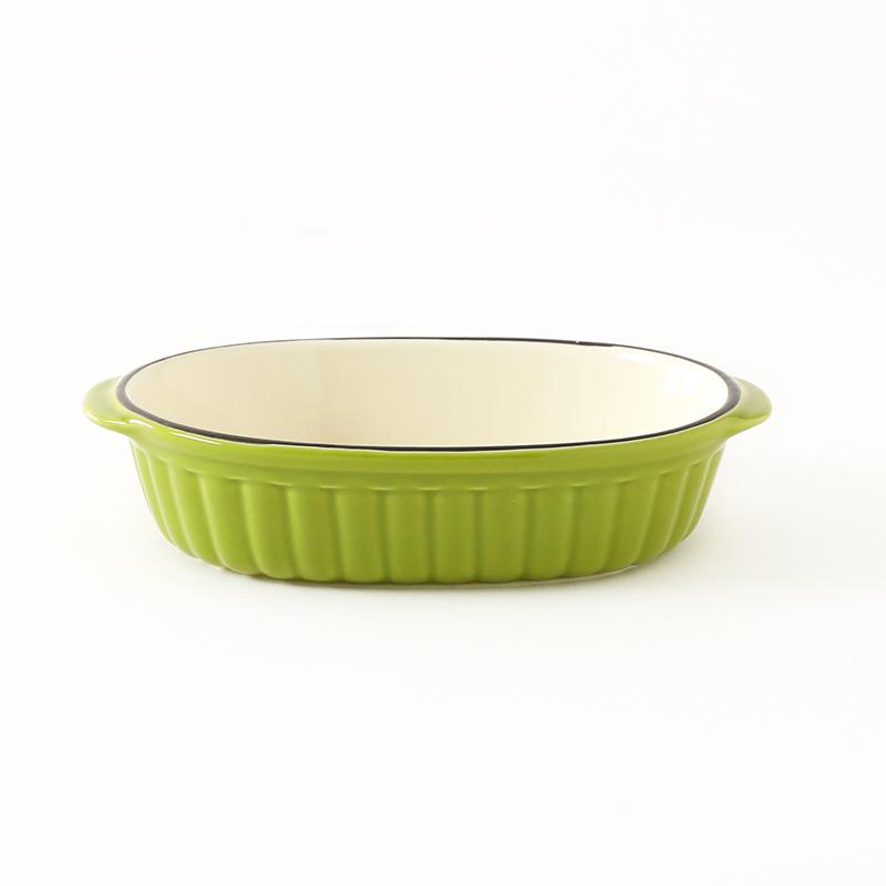 グラタン皿 IF カローレ GN グリーン