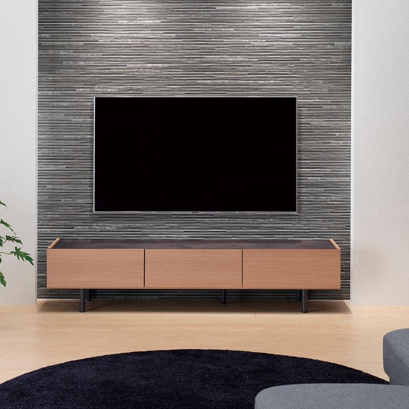 TVボード パモウナ WV-120 WV-150 WV-180 アイダホオーク色 ※3サイズから選べます