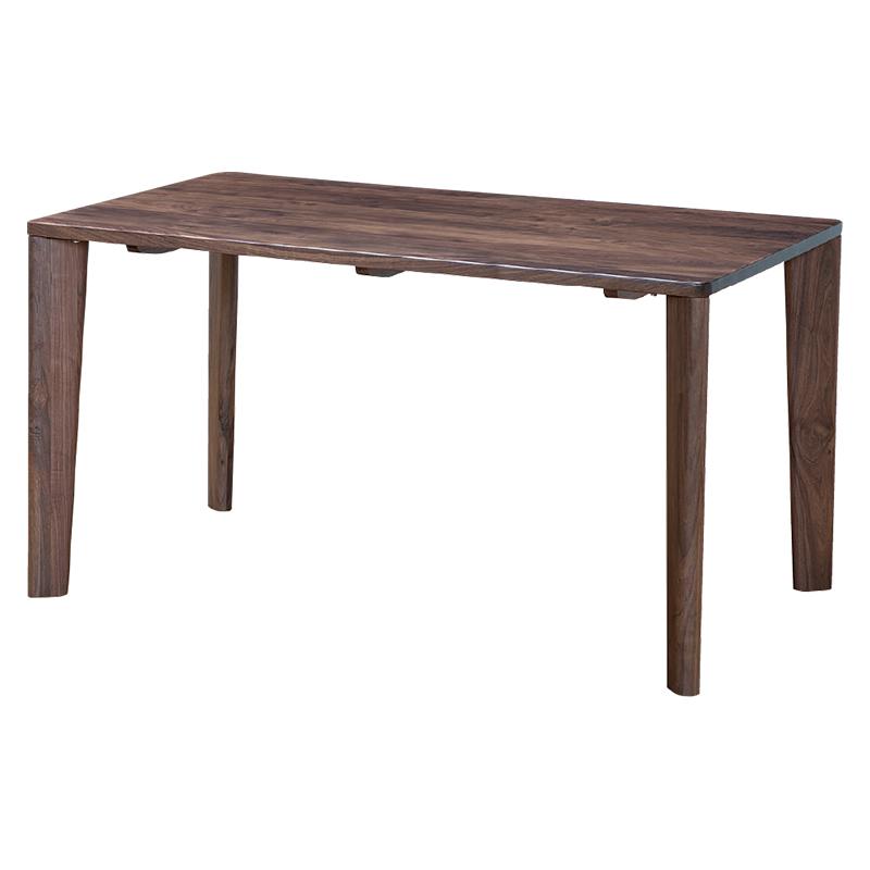 ダイニングテーブル SAMANTHA3 135~180TOP WN+4LEGS WN
