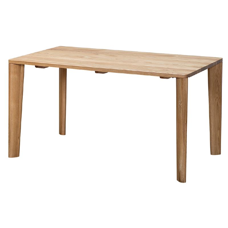ダイニングテーブル SAMANTHA3 135~180TOP OAK+4LEGS OAK